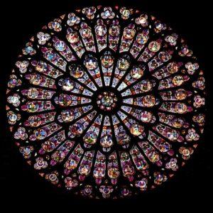 Kirchenfenster als Mandala