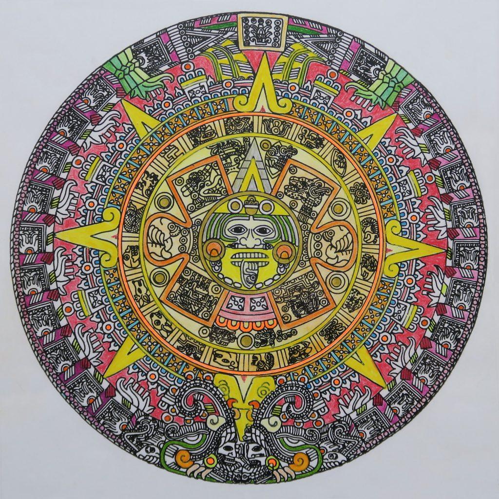 Sonnenkalender der Azteken